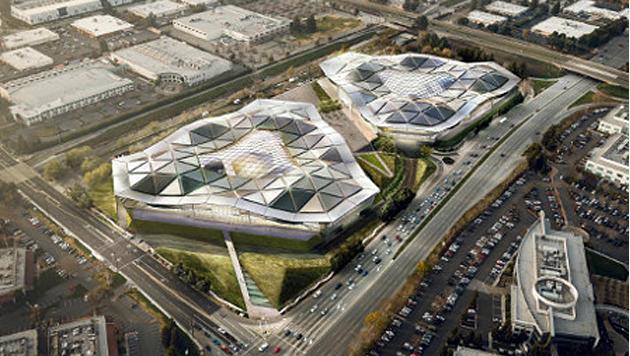 Nvidia plant futuristischen neuen Firmensitz (Bild: Nvidia)