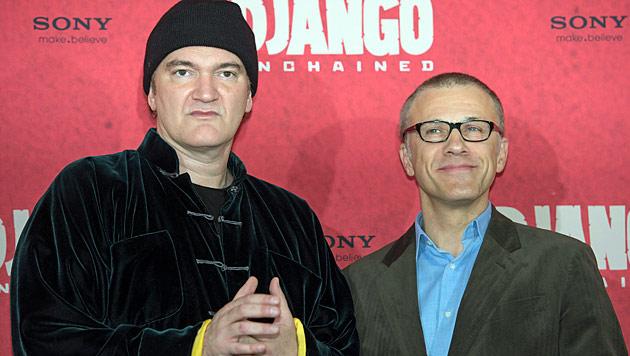 Tarantino & Waltz: Der Meister und seine Wiener Muse (Bild: dapd/Clemens Bilan)