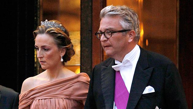 Belgischer Prinz Laurent aus Tiroler Klinik entlassen (Bild: APA/EPA/CHARLES PLATIAU/POOL)