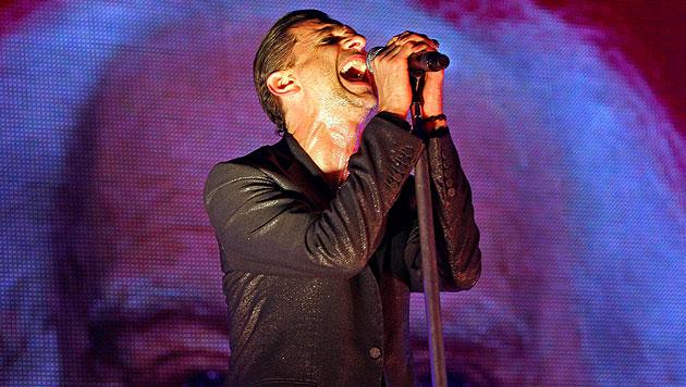 Depeche Mode live im Wiener Museumsquartier (Bild: EPA)