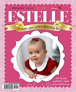 Estelle: Zum ersten Geburtstag gibt es ihre Autobiografie (Bild: Expressen)