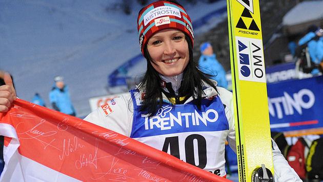 Seifriedsberger holt im Skispringen Bronzemedaille (Bild: APA/BARBARA GINDL)