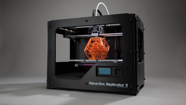Steht bald in jedem Haushalt der eigene 3D-Drucker? (Bild: MakerBot)