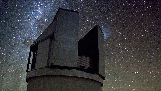 Das ESO-Teleskop VISTA in Chile (Bild: ESO)