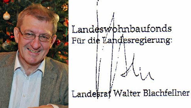 Salzburg: Vollmacht zu Wohnbaugeldern ist gefälscht (Bild: Wolfgang Weber, Krone)