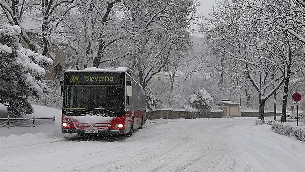 Schnee im Osten sorgt für zahlreiche Unfälle und Einsätze (Bild: Zwefo)