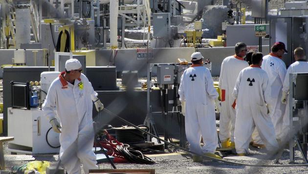 USA: Radioaktive Fl�ssigkeit sickert aus Atomm�lltanks (Bild: AP)