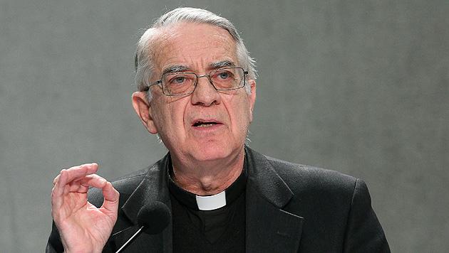 """Vatikan-Sprecher: """"Verleumdungen gegen Kirche"""" (Bild: EPA)"""