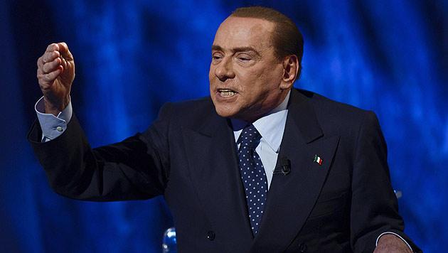 """Berlusconi: """"Italiens Justiz gefährlicher als die Mafia"""" (Bild: EPA)"""
