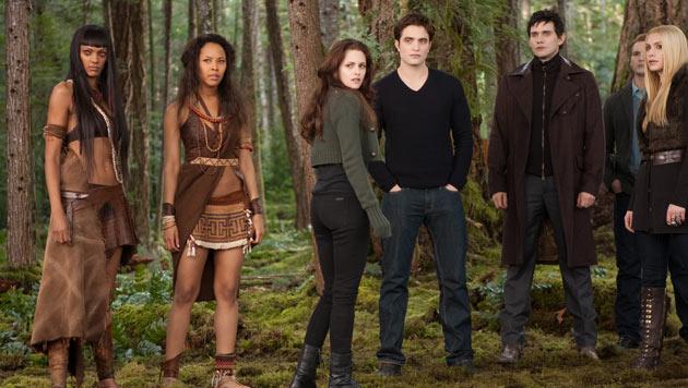"""Sieben Himbeer-Schm�hpreise f�r """"Twilight""""-Finale (Bild: AP)"""