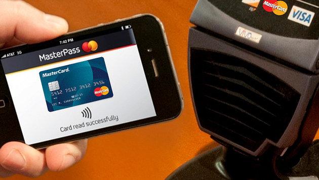 Mobiles Bezahlen ohne Plastikkarte auf dem Vormarsch (Bild: Mastercard)