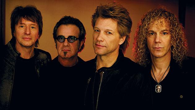 Bon Jovi kommen mit neuem Album in die Wiener Krieau (Bild: Universal Music)
