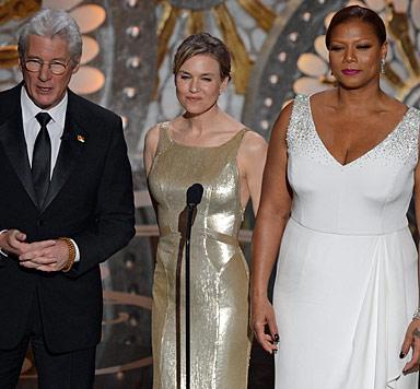 Renee Zellweger mit starrer Botox-Miene bei Oscars (Bild: AFP)
