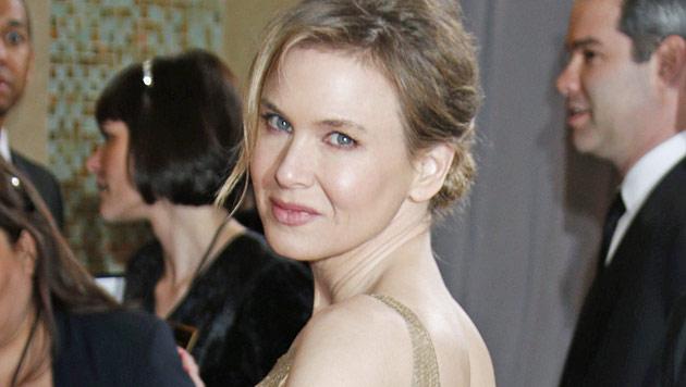 Renee Zellweger mit starrer Botox-Miene bei Oscars (Bild: AP)
