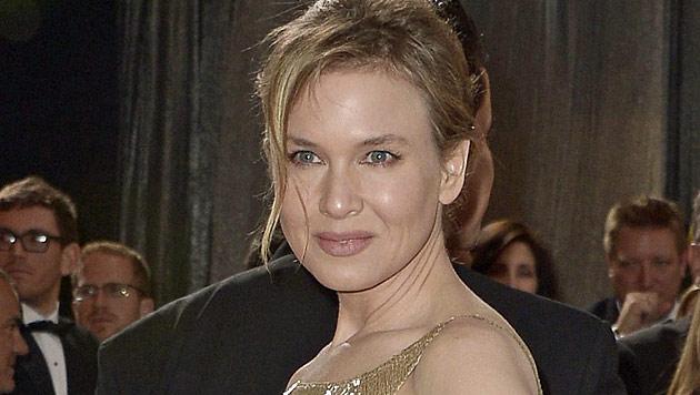 Renee Zellweger mit starrer Botox-Miene bei Oscars (Bild: EPA)