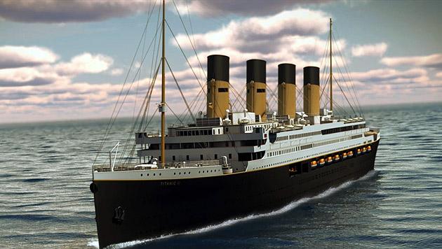"""""""Titanic""""-Replik soll Besucher in Panik versetzen (Bild: AP)"""