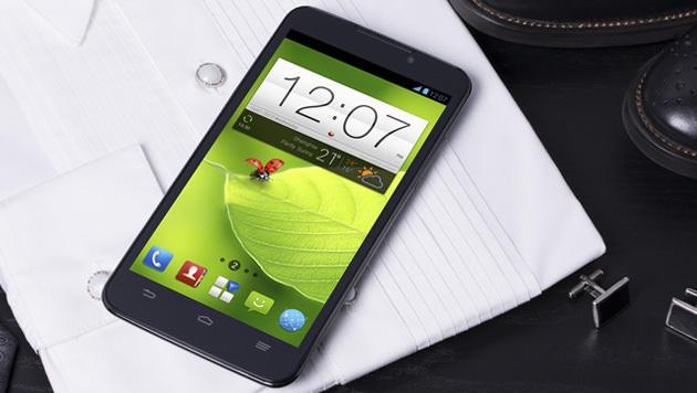 ZTE zeigt Full-HD-Smartphone mit 5,7 Zoll Diagonale (Bild: ZTE)