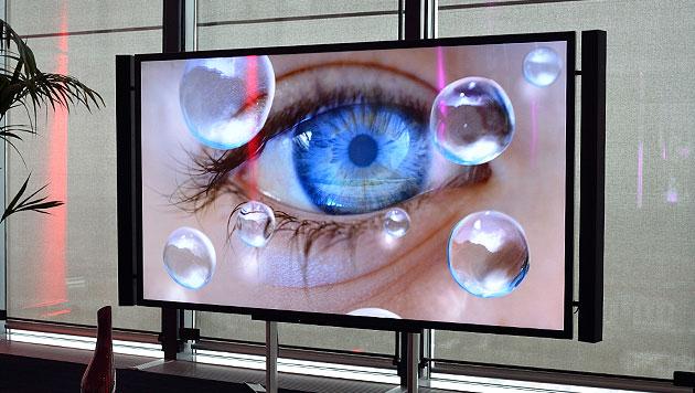 4K: Blick auf die angeblich nächste TV-Revolution (Bild: Sebastian Räuchle)
