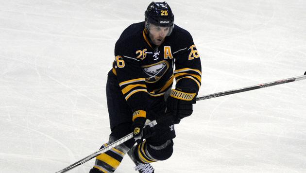 Vanek bei Pleite der Sabres erneut verletzt out (Bild: AP)