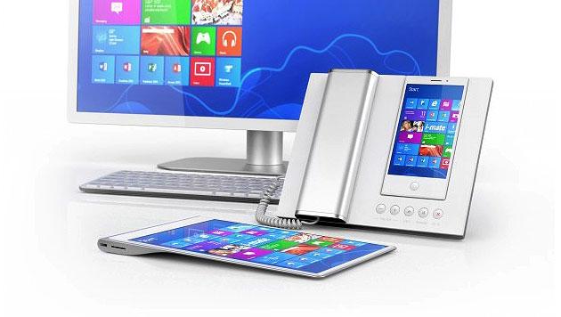 Windows-8-Handy lässt sich in PC verwandeln (Bild: i-mate)