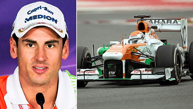 Adrian Sutil erhält Formel-1-Cockpit bei Force India (Bild: EPA)