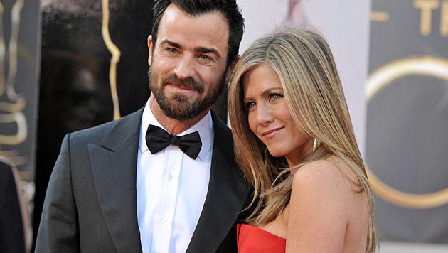 Aniston & Theroux: Termin für Hochzeit fixiert (Bild: AP)
