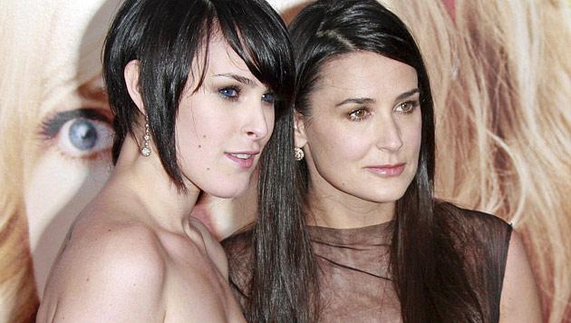 Demi Moore geht mit Ex-Freund von Tochter Rumer aus (Bild: EPA)