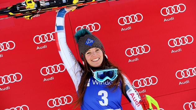 Weirather gewinnt Garmisch-Super-G, Fenninger Vierte (Bild: EPA)