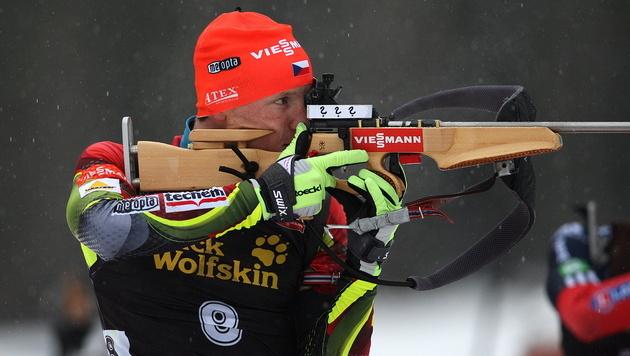 Erster Weltcupsieg für Moravec, Eder 10., Mesotitsch 11. (Bild: EPA)