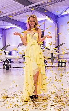 'Austria's next Topmodel': Greta ist die Schönste (Bild: Puls 4/Harald Lachner)