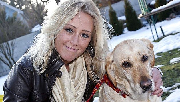 Bettler ließen Labradorhündin in Abbruchhaus zurück (Bild: Markus Tschepp)