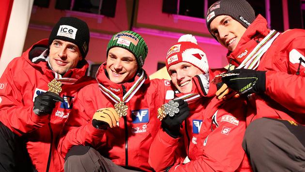ÖSV-Athleten mit sieben Medaillen über Erwartungen (Bild: AP)