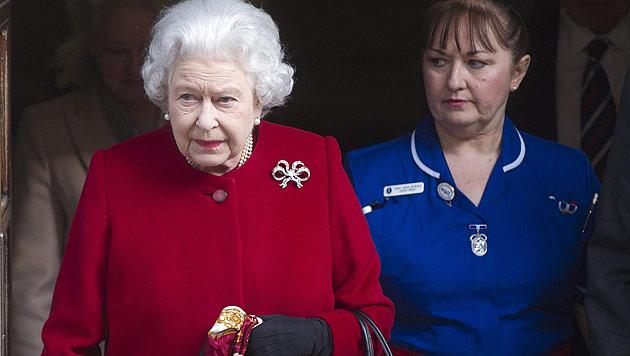Queen Elizabeth aus dem Spital entlassen (Bild: EPA)
