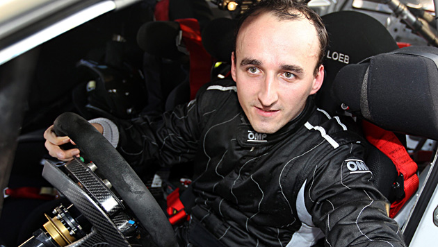 Robert Kubica hilft Mercedes als Tester im Simulator (Bild: EPA)