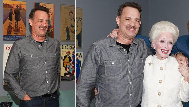 Tom Hanks gibt mit 56 Jahren sein Broadway-Debüt (Bild: AFP)