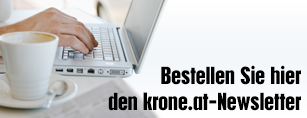 Bestellen Sie hier den krone.at-Newsletter