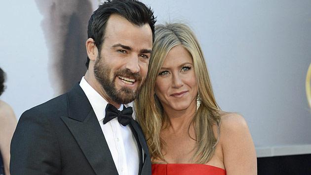 Aniston & Theroux: Hochzeit angeblich nächste Woche (Bild: EPA)