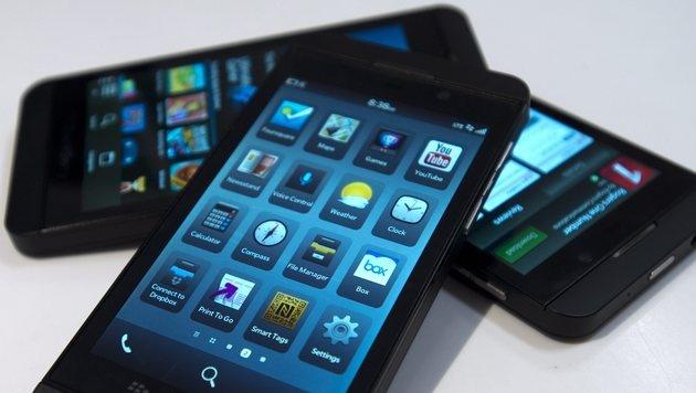 Deutsche Telekom verbannt Blackberry aus US-Läden (Bild: AP)