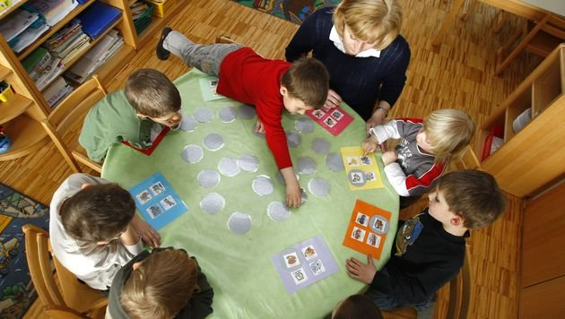 Bund-Länder-Pakt zur Kinderbetreuung abgesegnet (Bild: APA/HARALD SCHNEIDER)