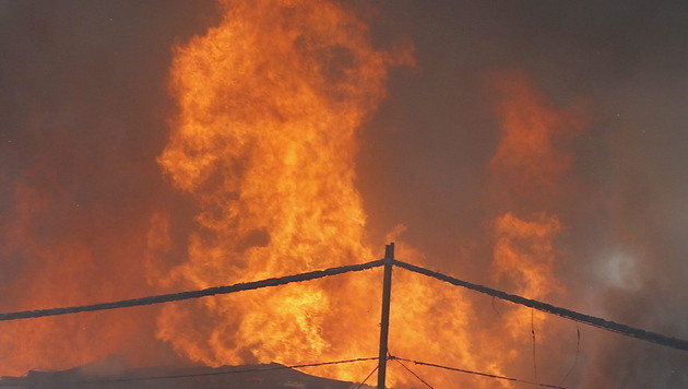 U-Haft über Tiroler Brandstifter verhängt (Bild: EPA (Symbolbild))