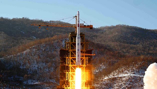 USA warnen Nordkorea vor weiterem Raketentest (Bild: EPA)
