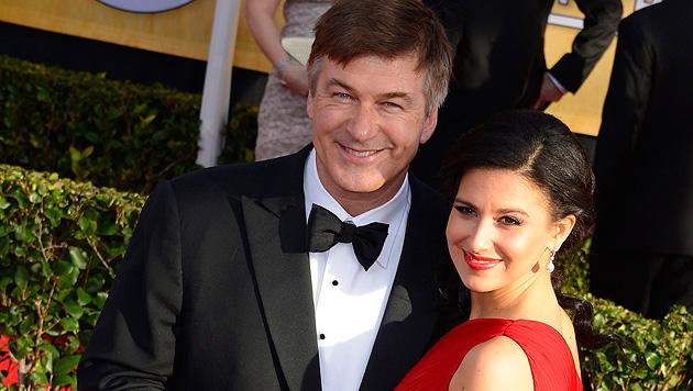 Alec Baldwin wird Vater eines kleinen Mädchens (Bild: EPA)