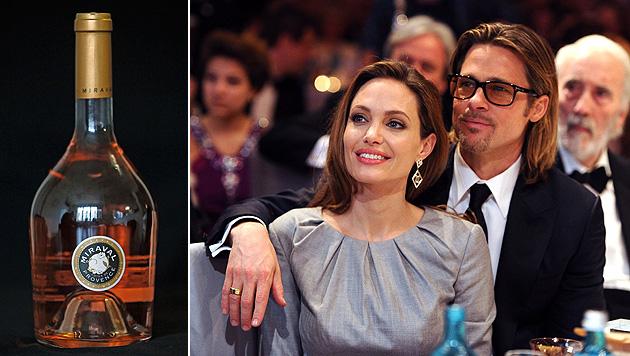 Erster Wein von Jolie und Pitt findet reißenden Absatz (Bild: AP, EPA)