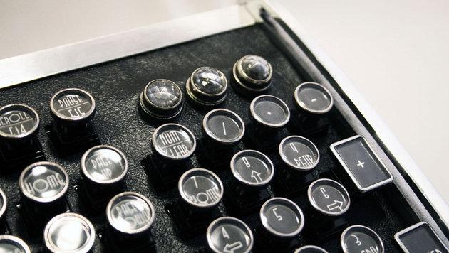 Keyboard mit alten Schreibmaschinen-Tasten (Bild: Etsy.com)