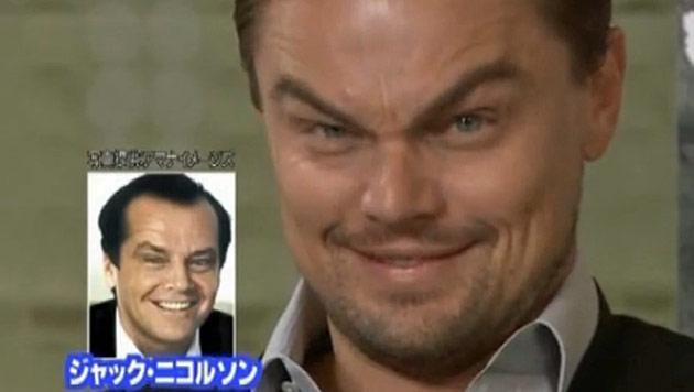 Leonardo DiCaprio macht einen auf Jack Nicholson (Bild: Zoom.in)
