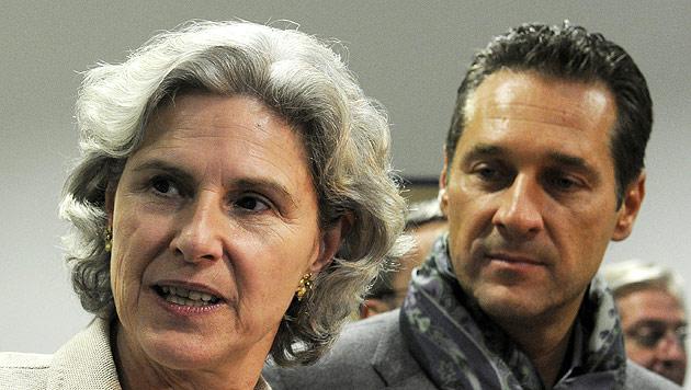 NÖ: Rosenkranz bleibt FP-Chefin und wird Klubobfrau (Bild: APA/Herbert Pfarrhofer)