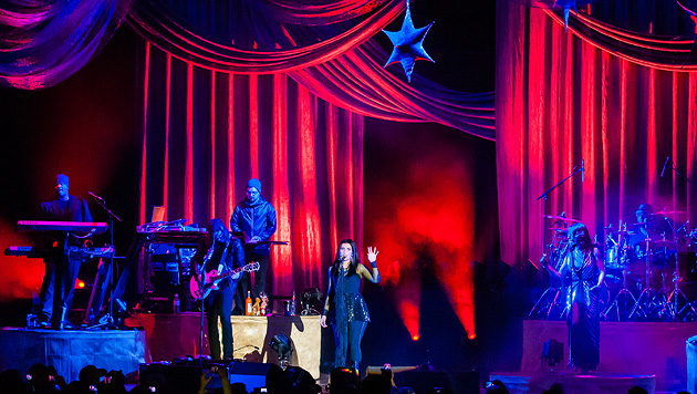 Nelly Furtado in Wien: Müder Start, furioses Finale (Bild: Andreas Graf)