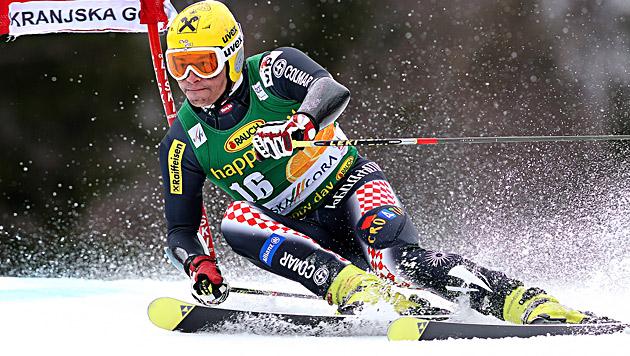 Kostelic gewinnt Slalom, Hirscher den Slalom-Weltcup (Bild: EPA)