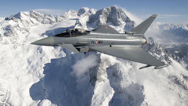 Eurofighter: RH kritisiert mangelnde Einsatzfähigkeit (Bild: APA/OTS/EUROFIGHTER GMBH/MARKUS ZINNER)