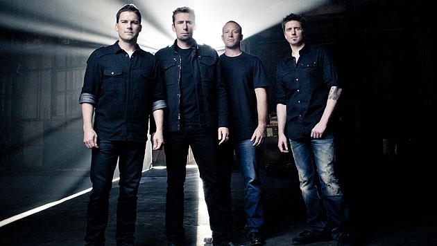 Nickelback müssen ihr Wien-Konzert absagen! (Bild: Warner Music)